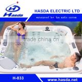 Promotional Audio radio music of Outdoor Furniture Spa Pool Hot Japanese Tub