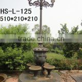 Cast Iron Ornamental Garden Lamp Pole
