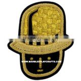 Indian Zari Hand Embroidery Badges