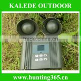 Factory direct sell electronic bird repeller with 50W, 150dB speaker