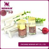 Newair rose red 42 colors environmental nail polish for girls