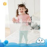 China supplier baby girls pajama clothing wholesale kids wear clothes girls cute pajama suit