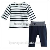 KS10466A Simple design baby boy night suits cotton baby pajama