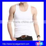 wholesale cotton tank top hot sale slim fit tank top mens cheap price garment factory china custom tank top with your brand