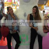 New arrival!!!HI CE animal mascot costume in 3 meters for show or event,inflatable polar bear costume for adult
