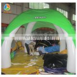 2016 green beautifull Inflatable tent for wedding party