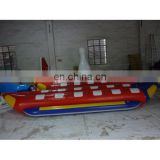 2016 double tube banana boat inflatable banana boat water game