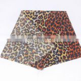 Printed Leopard Winter Scarf with double layer