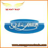 2014 new design oval shape soft pvc trademark