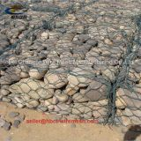 Galvanized Woven Gabion Box and PVC Gabion Box