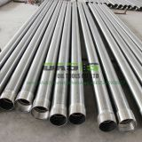 304 steel square slot 20 strainers deep well water pipes With threaded ends