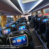 10.1inch bus entertainment audio guide system