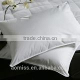 luxury 5 star hotel white duck down and feather pillow