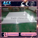 ACS Black And White Dance Floor And Interlocking Dance Floor And Cheap dance floor for sale