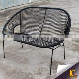 Synthetic rattan good quality leisure chair colorful outdoor wicker furniture recliner sofa                                                                         Quality Choice