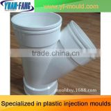 Manufacturing high quality TEE reducer PVC pipe fitting mold