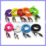 Super Fast USB 3.1 Type C Cord Color Flat Date Charging Cable