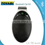 Wireless Stereo Bluetooth 4.0 Handsfree Speakerphone Car Kit With USB Charger Hands Free Bluetooth Car Kit