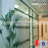 clear heat transparent insulation glass coating