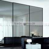 Factory customize modern mirror sliding door wardrobe (SZ-SW002)