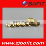 Hot selling carbon steel npt thread seamless pipe nipples solid brass                                                                         Quality Choice