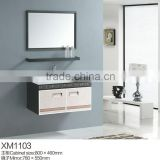 Stainless steel bathroom cabinet/stainless steel shoes cabinet/stainless steel bathroom vanity top cabinet