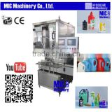 Micmachinery high efficiency liquid filling equipment semi bottle filling machine                                                                                                         Supplier's Choice