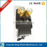 DC12V Semiconductor car refrigerator with four hole square top 12v car cooler and warm box/icebox/freezer
