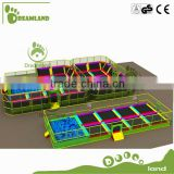 indoor square trampoline for kids
