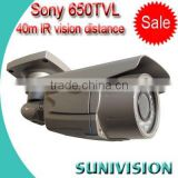 SONY 650tvl cctv camera pole