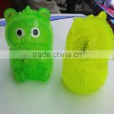 2016 Light Up animal Puffer ball animal kids toy