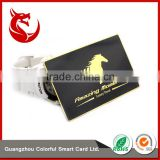 Top grade printable business golden metal card for club