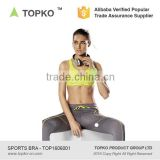 TOPKO TOPKO Camisole Yoga Sports Girl Tube Sexy Bra Fitness Wear Yoga Top With Support Inner yoga Bra