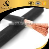 Heavy Duty cable super flexible arc rubber copper welding cable