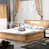 Solid teak wood bedroom furniture set,dressing mirror,pneumatic bed                                                                         Quality Choice