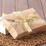 New Product Factory wholesale high quality paper candy box with ribbon