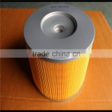 CHINA WENZHOU FACTORY SUPPLY 17801-67060 HIGH QUALITY YELLOW FILTER PAPER HEPA AIR FILTER CARTRIDGE