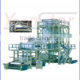 SJ-GS Series Three to Five Multi Layers Co-extrusion Film Blowing Machine with LDPE/HDPE/EVA materials
