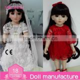 18'' SD Doll BJD Ball Jointed Dolls Angel Princess Doll Lifelike Supernatural Doll child angels