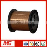 Automatic bonding stardard ultra fine rectangular enameled copper magnet wire for printed coil