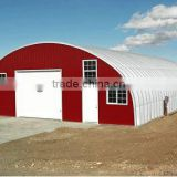 Pre-created Mobile Steel Building for Working / Storing Doogs with Arch Roof