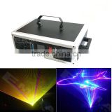 NEW 5000MW RGB Full Color Animation laser light with SD Card/christmas laser light