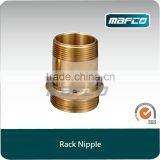 America type brass fire hose rack nipple