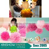 tissue paper pom poms for kids party supplies decor                                                                         Quality Choice