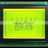 Inquiry About COB 12864 lcd module, green/yellow graphic dot matrix lcd module,transparent lcd display