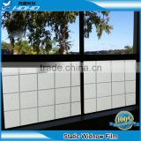 PVC material decorative static cling window film/self adhesive decorative static cling window sticker