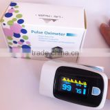2016 hot sale OLED Fingertip pulse oxymeter,PR monitor Blood Oxygen finger Pulse oximeter