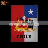 wholesale Chile flag PVC Rubber Soft 3D Fridge Magnets promotional gifts OEM Menufacture china