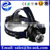 Wholesale T6 LED Headlamp Rechargeable Safety Mining Helmet Light