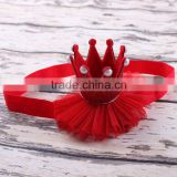 Pretty Baby Girls Princess Tiaras Crowns Headband New Elastic Birthday Party Hair Accessories                                                                         Quality Choice